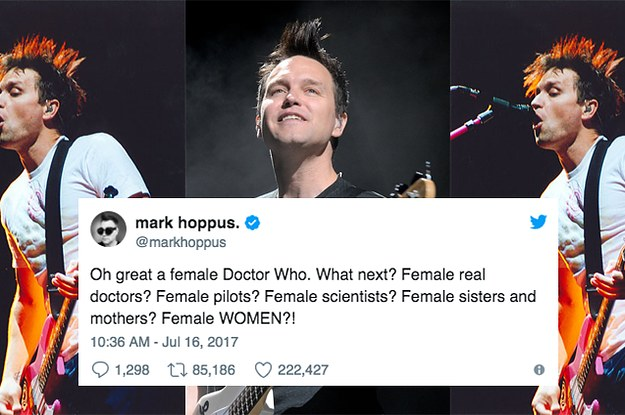 Mark Hoppus From Blink 182 Had A Great Year On Twitter Check out our mark hoppus selection for the very best in unique or custom, handmade pieces from our stringed instruments shops. mark hoppus from blink 182 had a great