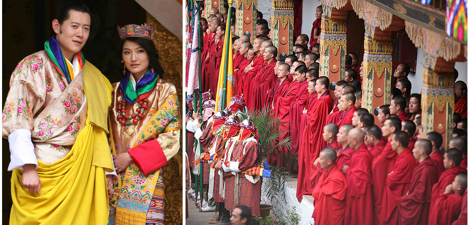royal wedding in bhutan essay Bhutan had its very own royal wedding on thursday, as the nation's dragon king married an educated commoner 10 years his junior king jigme khesar namgyel wangchuck, 31, and his new bride, queen.