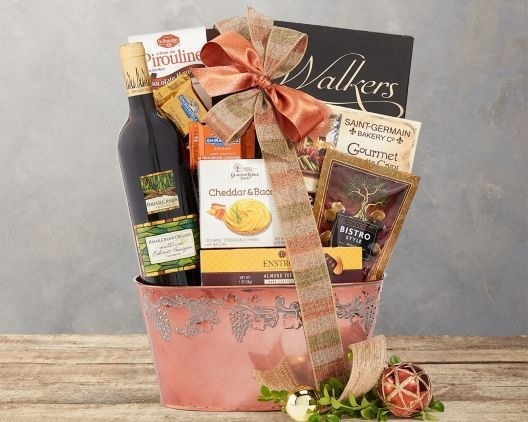 Wine Country Gift Baskets for giving someone a celebration in a basket!