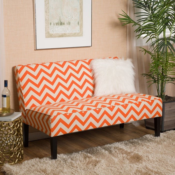 """Promising review: """"Perfect accent piece for my living room, and easy to put together. It's not something you'll fall asleep on, but if you want to make your guest comfortable without taking up a bunch of space – this is a perfect item."""" –Jordan PGet it from Amazon for $169.99 (available in four colors)."""