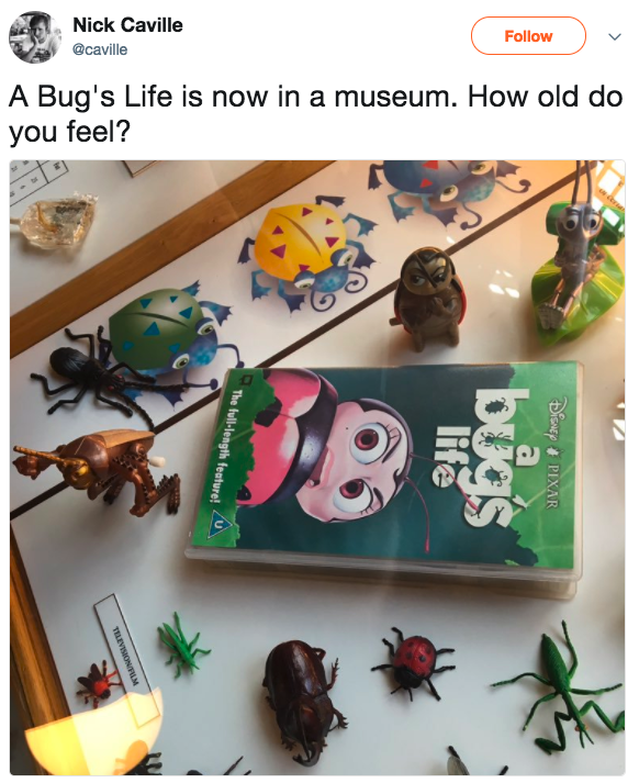 A Bug's Life? IN A MUSEUM.