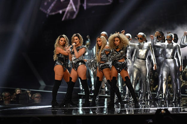 "When they opened the Brit Awards with a performance of ""Shout Out to My Ex"" and SLAYED:"