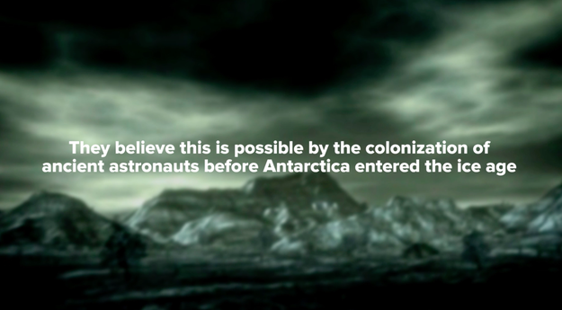 3. UFO theorists believe there are pyramids in Antarctica.