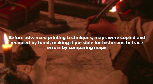 But wait just a minute! If these maps are so ancient, then how the hell have they been preserved so well?