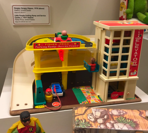 That one toy garage everyone weirdly had? IN A MUSEUM.