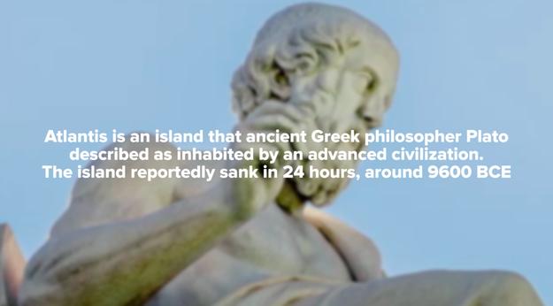 1. Some believe that Antarctica is actually the sunken island of Atlantis. Whaaaat?