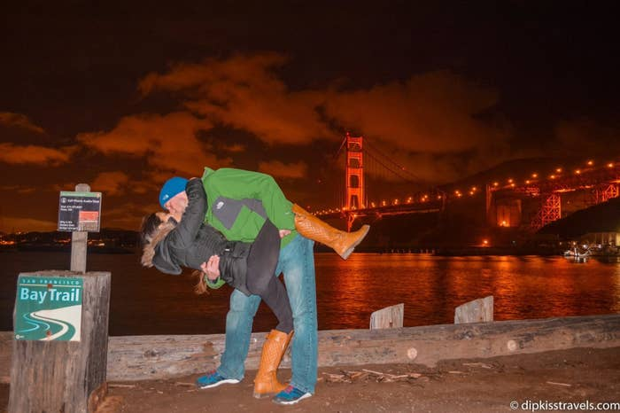This Long-Distance Couple Kept Meeting Around The World To