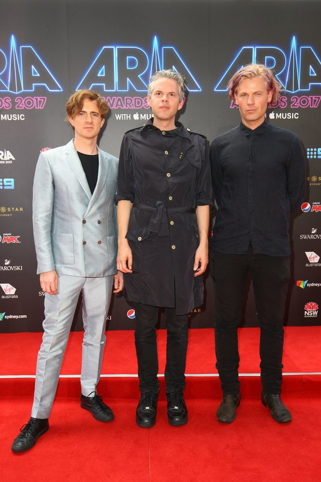 Nick Littlemore, Sam Littlemore, and Peter Mayes of PNAU