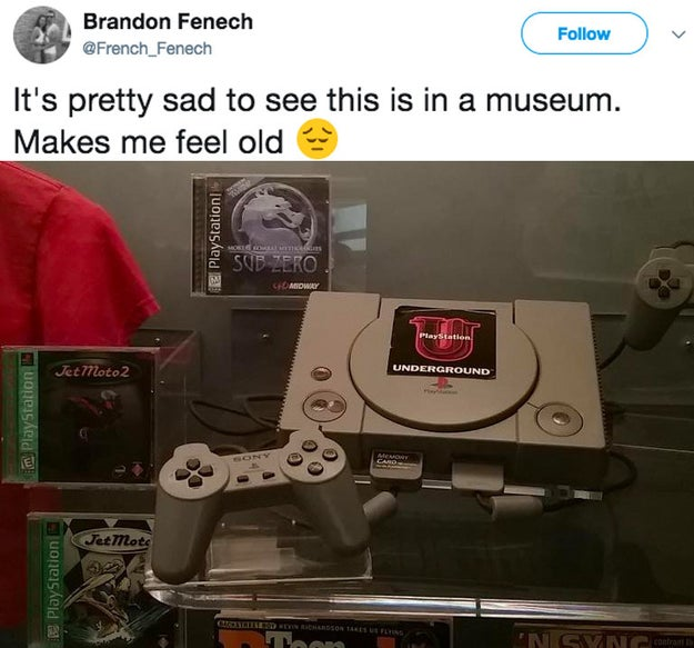And the OG Playstation.