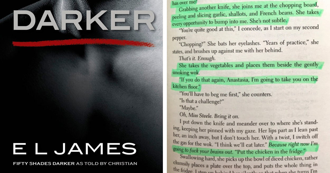 "50 Shades Of Grey Dirty Quotes The Latest ""fifty Shades"" Book Has Got The Most Ridiculous Passage"