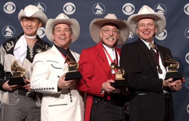 To put that into perspective, these guys have more Grammys than Ariana Grande! I'm in tears.