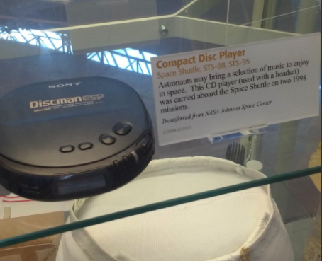 CD players probably spinning some Blink 182? IN A MUSEUM.