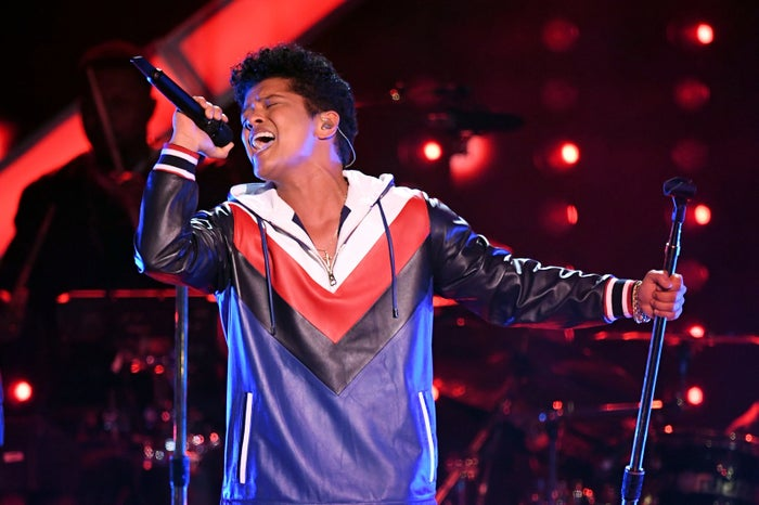 "Other songs nominated this year include: ""The Story Of O.J."" by Jay-Z, ""HUMBLE."" by Kendrick Lamar, ""24K Magic"" by Bruno Mars, and ""Redbone"" by Childish Gambino. Bruno Mars is one of two men of color who has taken the award home in the past decade, the other is Pharrell. If Mars wins again, he'll join the small list of artists who have received the award twice."