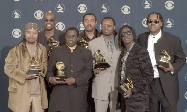 """There's the time THE BAHA MEN won """"Best Dance Recording"""" award over gorgeous Jennifer Lopez' """"Let's Get Loud."""" A modern day classic!"""