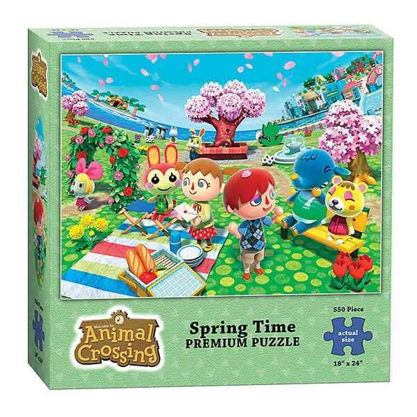 "550-piece puzzle that measures 18""x24"" when complete.Get it from GameStop for $7.99 or ThinkGeek for $10.99."