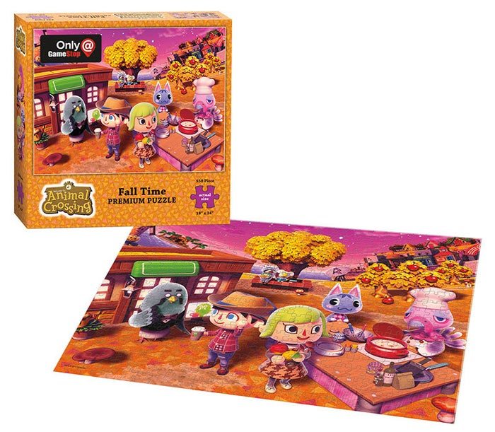 "550-piece puzzle that measures 18""x24"" when complete.Get it from GameStop for $9.99."