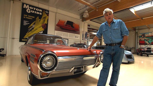 In 1964, Chrysler developed a turbine engine car which could run on anything flammable, and a curious Mexican president suggested tequila. It worked, but the cars were way too expensive (around $400,000 in today's dollars), and Chrysler wanted to avoid the import tax, so most of the cars were crushed. Leno owns one of the three remaining.