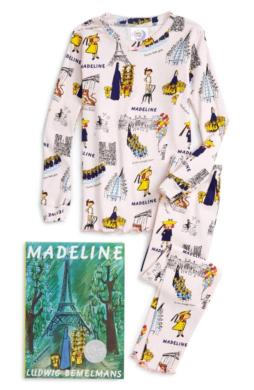 A Madeline PJs and book set to encourage cuddling and bedtime stories. c4254a346