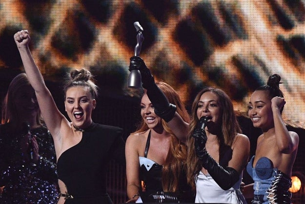 And then when they won for Best British Single and made us all feel like proud BFFs: