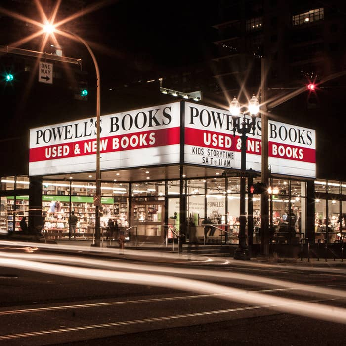 A third-generation family-owned business selling both new and used books side by side, Powell's has an inventory over 2 million volumes. The space, which was once a car dealership, occupies one whole block on Burnside, so you'll have more than enough to browse through.