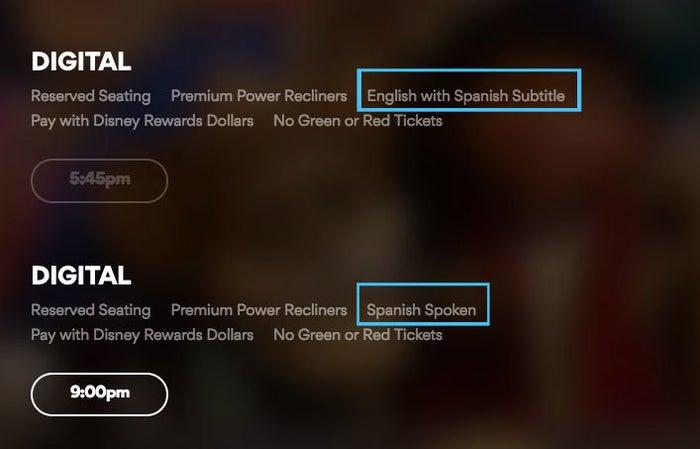 Así, las generaciones de mexicanos que viven allá y no hablan inglés, podrán disfrutar de la peli también.