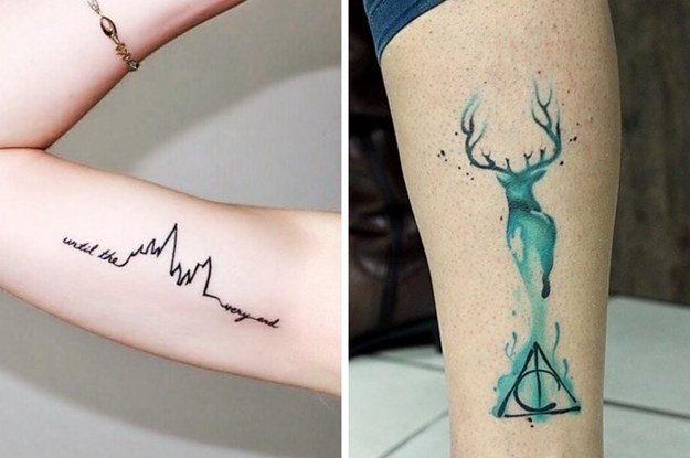 39 Gorgeous Harry Potter Tattoos That Will Make You Say I Want That