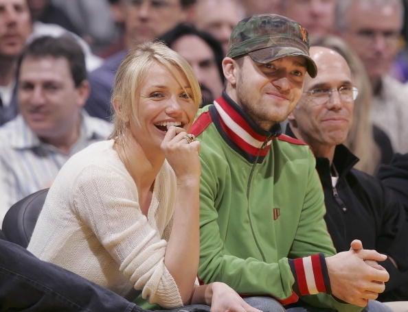 Cameron Diaz et Justin Timberlake ont formé un couple de 2003 à 2006.