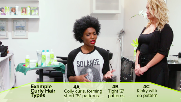 Apparently, there are a lot of curly hair types to pick from when trying to buy products, and it can get pretty confusing tbh.
