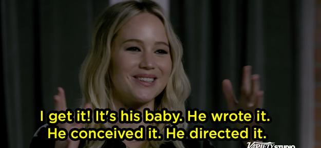 Jen said she gets it, though.