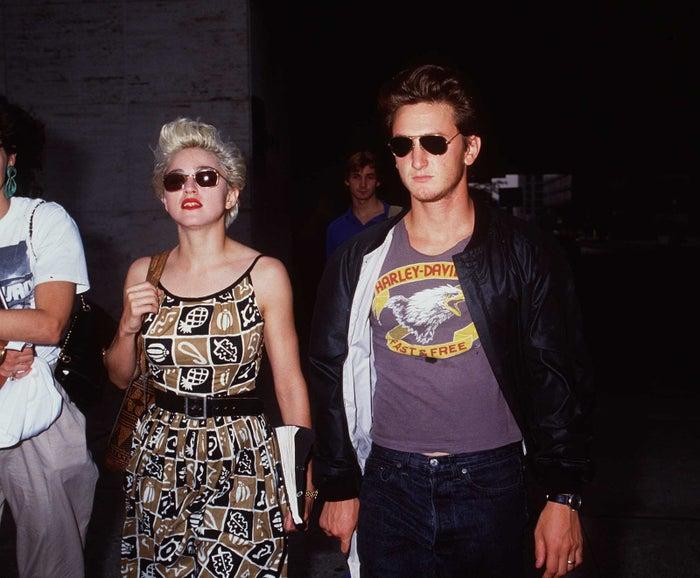 Madonna et Sean Penn ont été mariés de 1985 à 1989.