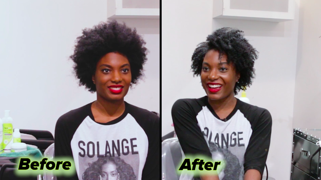When it was time for the big reveal, Bianca was absolutely in love and super excited about her beautiful twist-out!