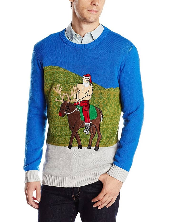 Ugly christmas jumpers - Putin