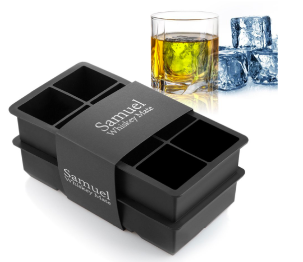 I truly believe these are essential when drinking any cocktail with ice. Because the cubes are fairly big, the ice melts slowly and doesn't water down drinks! Get it from Amazon for $11.89.