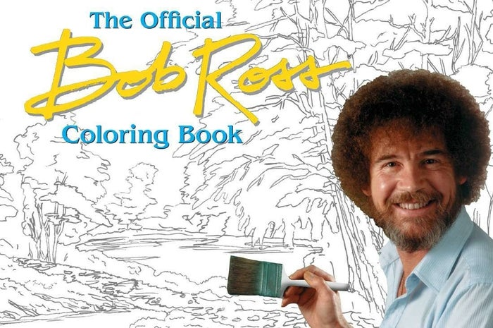 """Promising Review: """"I was amazed when I found this coloring book! I grew up watching Bob Ross with my dad on public television and I knew I just had to have this. The coloring book is beautiful and you can make it however you'd like. (Remember, there are no mistakes, just happy accidents.) It's also filled with his own quotes, which makes it perfect."""" —Amazon CustomerGet it from Amazon for $12.71, Barnes & Noble for $15.26, or a local bookseller through IndieBoundhere."""