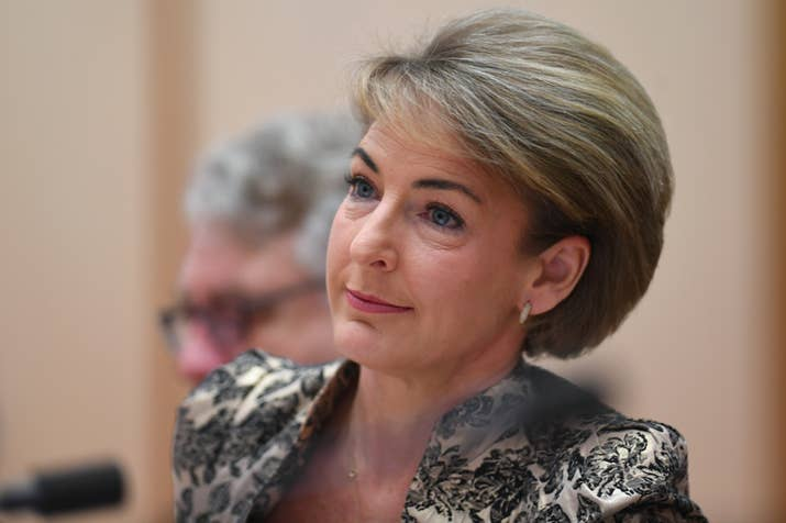 Minister Michaelia Cash.