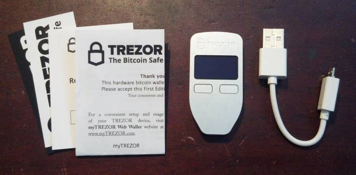 A slightly different wallet experience, Trezor is actually hardware that stores your digital funds on what basically amounts to a USB drive. It is designed to sign transactions and keeps your coins safe from hackers and other digital threats.