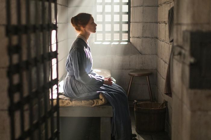 Sarah Gadon as Grace Marks in Alias Grace.