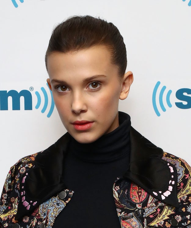 So, thanks to the success of Stranger Things over the past year, Millie Bobby Brown has become a star in her own right.