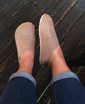 375b9d65dff9 17. A pair of slip-on shoes that should be voted