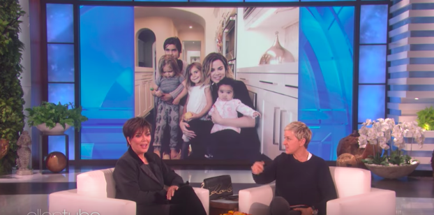 """""""And probably Khloé. Probably Khloé. And Kylie...probably,"""" Ellen egged her on."""