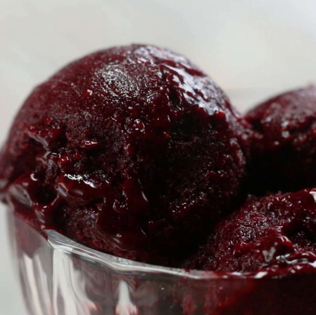 8. Blackberry Sorbet