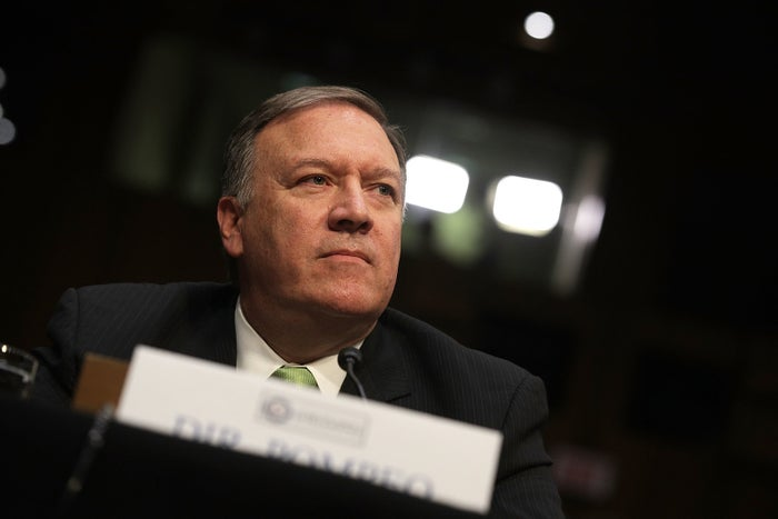 Central Intelligence Agency Director Mike Pompeo.