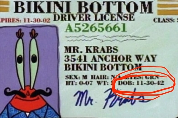 What The Hell, Mr  Krabs Is 75 Today
