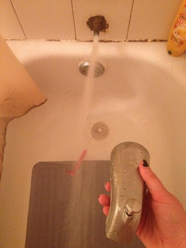 This faucet: