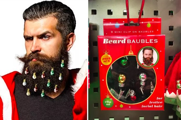 screw christmas trees ring in the holidays with christmas beard ornaments instead - Christmas Beard