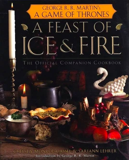 """Promising Review: """"Beautiful pictures, delicious recipes, fantastic tidbits of information, and this cookbook is easy to read — what's not to love? I found the recipes very faithful to the meals written within George R. R. Martin's universe, and the skill level of the recipes range from beginner to advanced, making it perfect for any fan that wants a more immersive experience. Some of these recipes have even become staples within my household — the honeyed chicken is just to die for!"""" —Miranda BecicaGet it from Amazon for $21.27."""