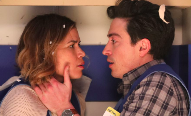 Jonah and Amy (Superstore)