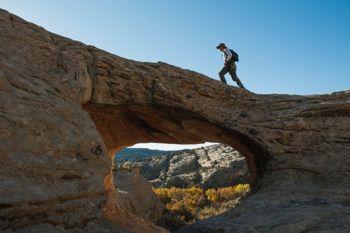 A natural bridge in Bears Ears National Monument.