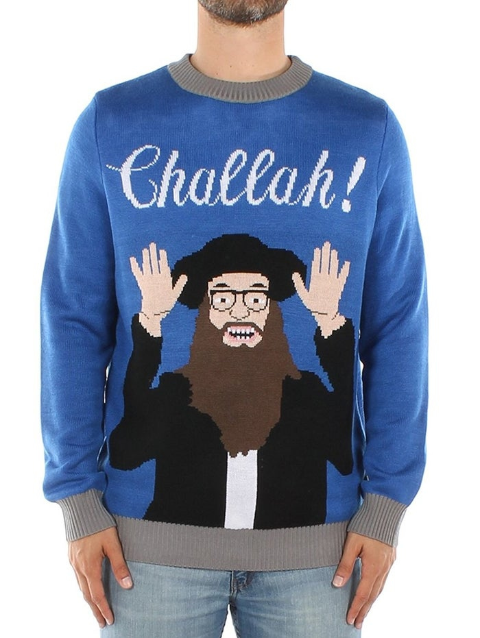 Holla for some challah, amirite?Get it from Amazon for $65 (sizes S–2XL).