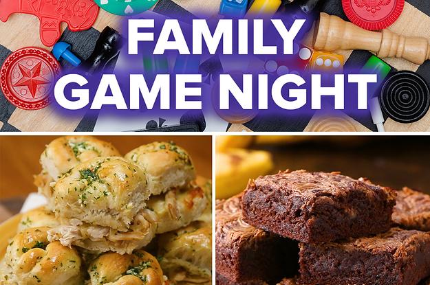 Family Game Night Recipes